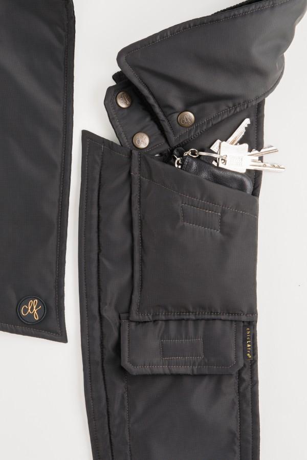 Neckbag Grey Hound extra Tasche