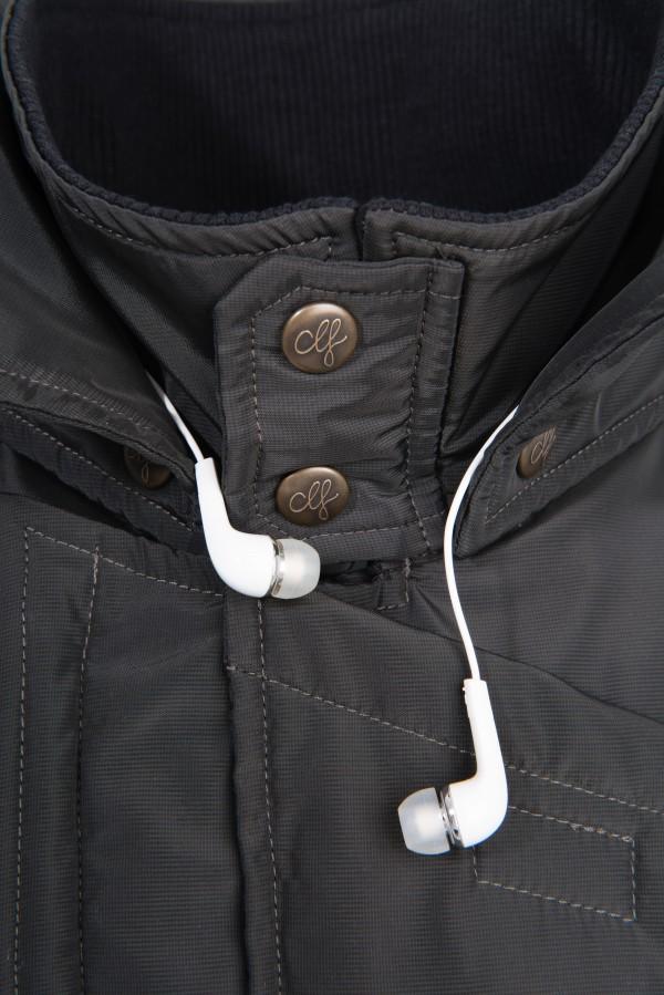 Neckbag Grey Hound Kopfhörer